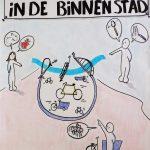 Debat de fiets in het centrum